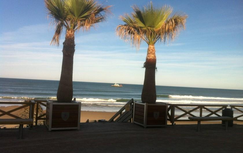Location de vacances - Villa à Lacanau Océan - Plage centrale à 500 m de la villa