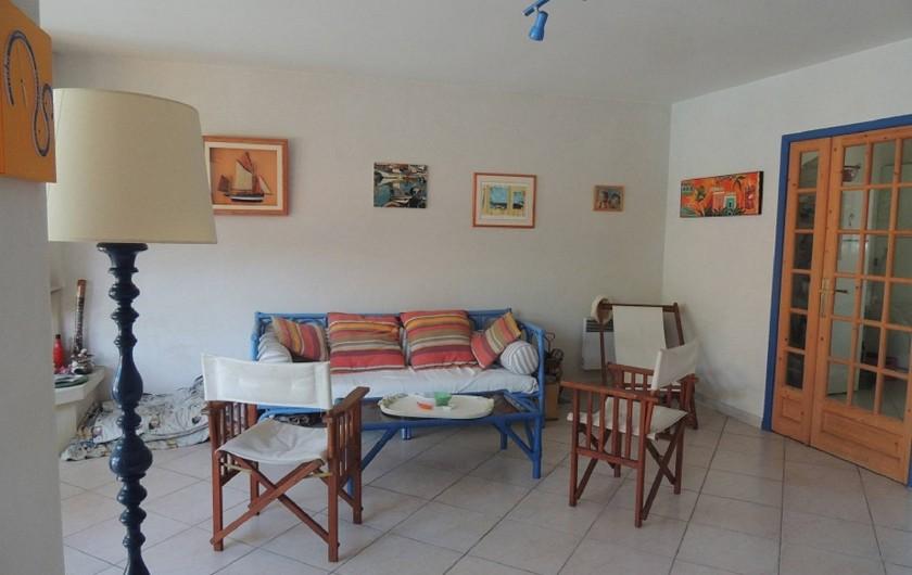 Location de vacances - Villa à Lacanau Océan - Salon