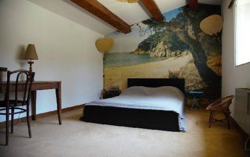 Location de vacances - Mas à Paradou - Chambre 3 avec une magnifique vue côté sud