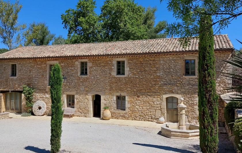 Location de vacances - Mas à Foissac - ping pong et kicker