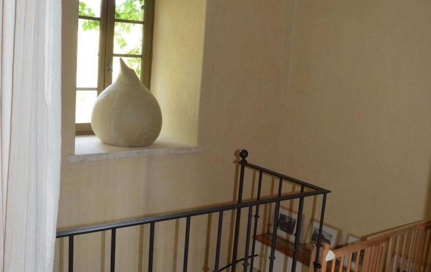 Location de vacances - Mas à Foissac - sécurité enfants pour escaliers