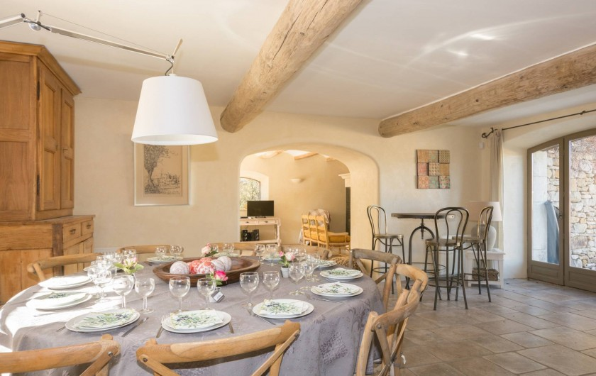 Location de vacances - Mas à Foissac - salle à manger