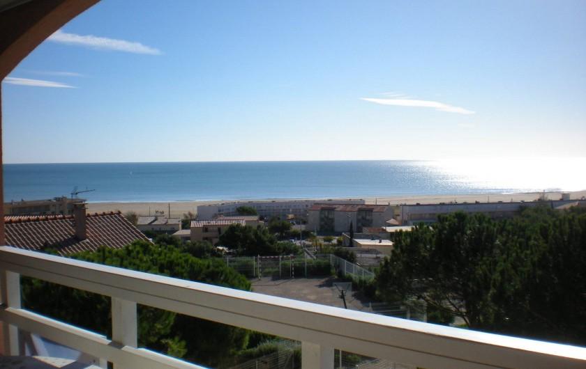 Location de vacances - Appartement à Saint-Pierre la Mer - Vue mer