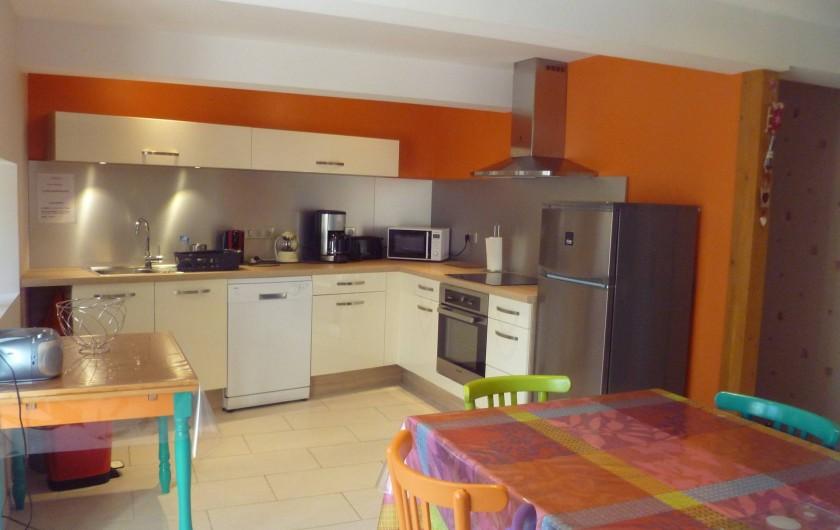Location de vacances - Maison - Villa à Saint-Victor-la-Rivière - Cuisine