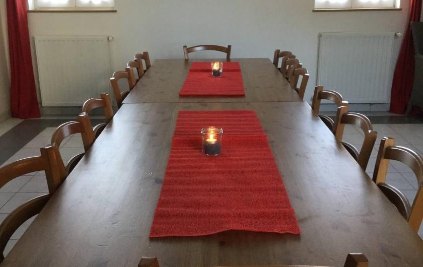 Location de vacances - Gîte à Ponthoile - Salle à manger Les Prés Salés