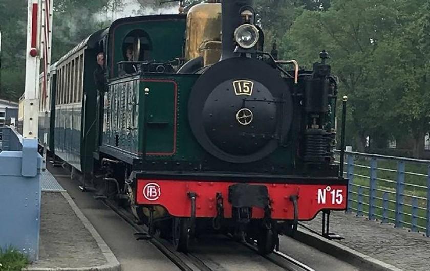 Location de vacances - Gîte à Ponthoile - Le train Touristique à Saint Valérie sur Somme