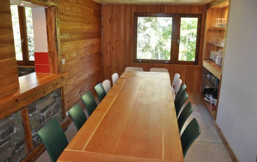 Location de vacances - Chalet à Puy-Saint-Vincent - la salle à manger