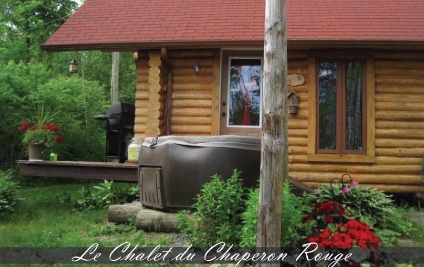 Location de vacances - Chalet à Saint-Boniface