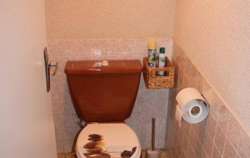 Location de vacances - Villa à Mazan - WC du bas indépendant