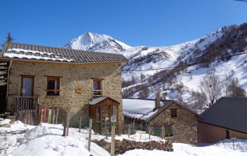 Location de vacances - Maison - Villa à La Grave - La Lauzette sous la neige