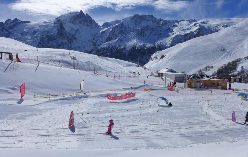 Location de vacances - Maison - Villa à La Grave - Ski familial au Chazelet ( 4 km)