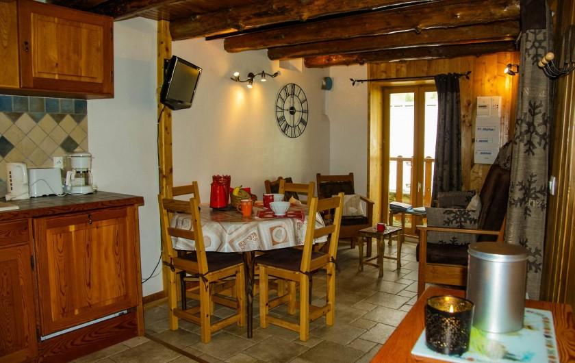 Location de vacances - Maison - Villa à La Grave - La pièce à vivre