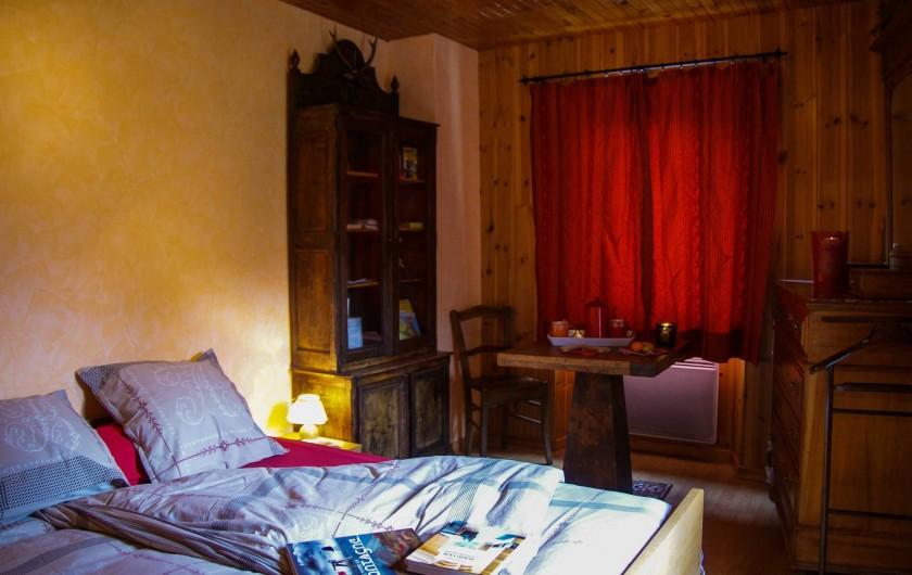 Location de vacances - Maison - Villa à La Grave - Chambre parentale