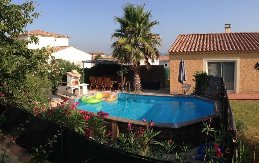 Location de vacances - Villa à Bouillargues - Piscine chauffé