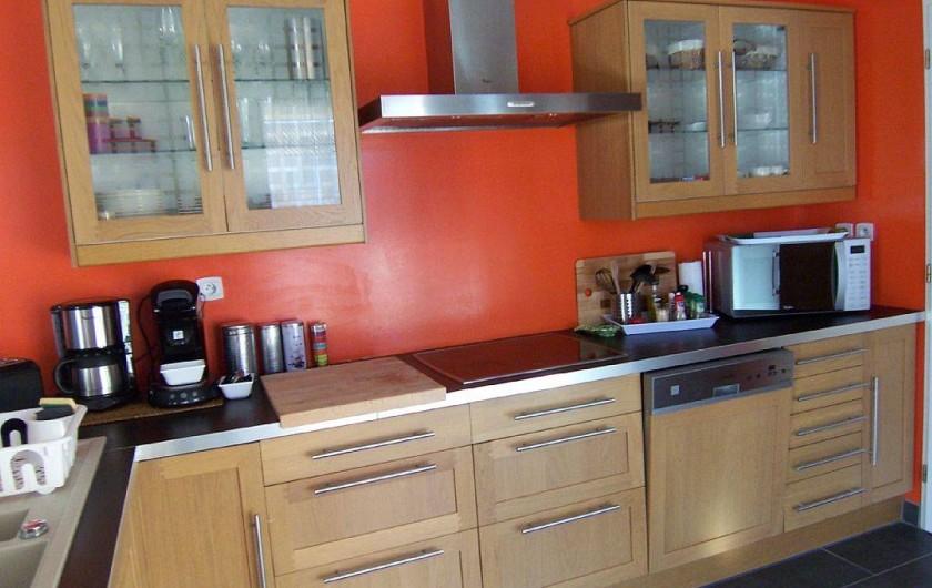 Location de vacances - Villa à Bouillargues - Cuisine entièrement équipée