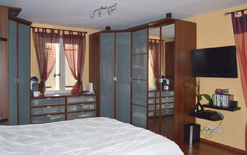 Location de vacances - Villa à Bouillargues - Grande chambre lit 180 avec lit superposé