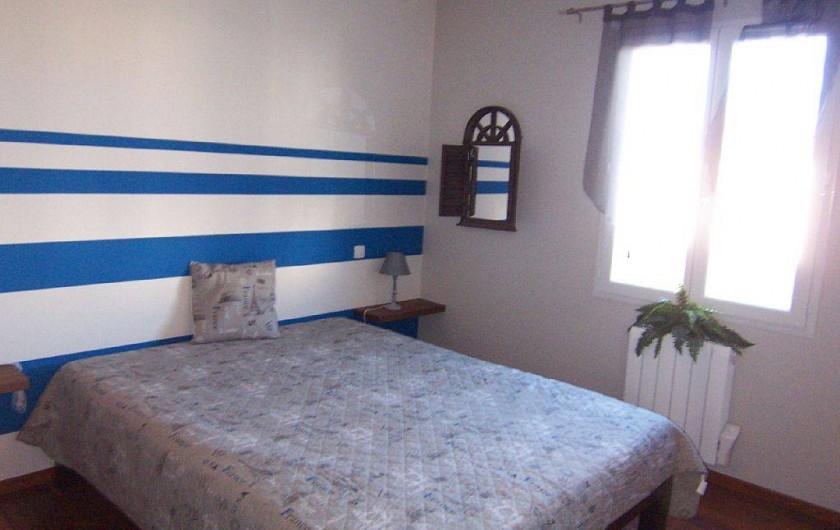 Location de vacances - Villa à Bouillargues - Petite chambre lit 160