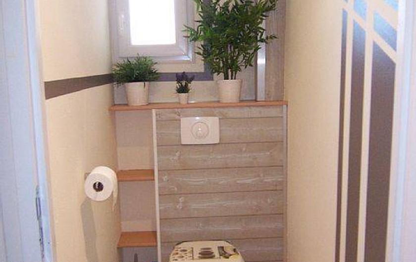 Location de vacances - Villa à Bouillargues - WC séparé