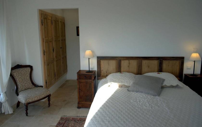 Location de vacances - Chambre d'hôtes à Gordes - Chambre Isabelle