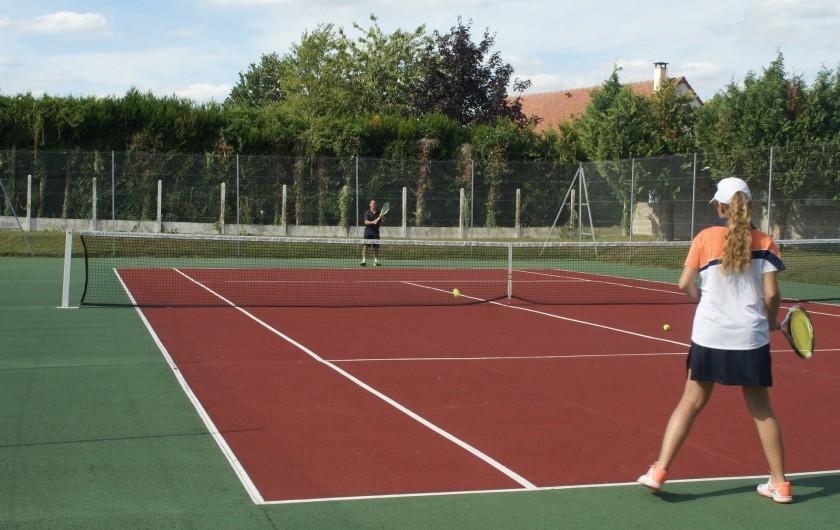 Location de vacances - Chambre d'hôtes à Vecquemont - CASA: tennis