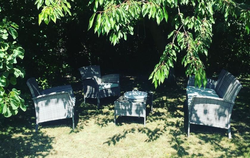Location de vacances - Chambre d'hôtes à Vecquemont - CASA: jardin