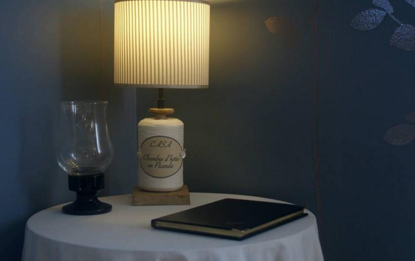 """Location de vacances - Chambre d'hôtes à Vecquemont - CASA: Livre d'or """"Merci pour la passion ... connaître votre magnifique région."""""""