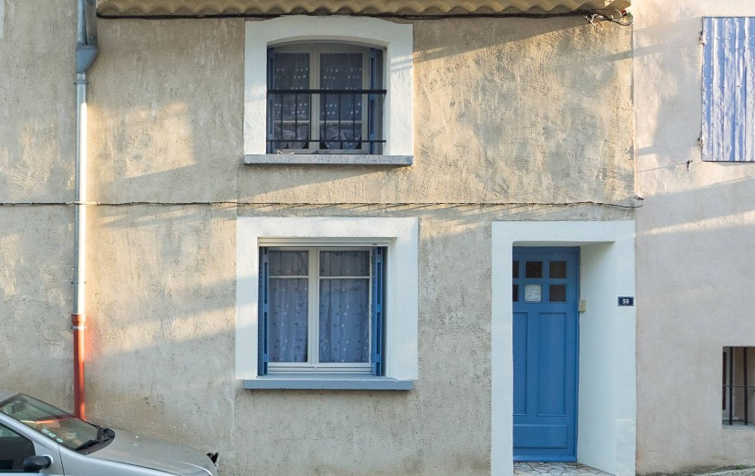 Location de vacances - Gîte à Beaumes-de-Venise - Entrée du gîte au 50 Avenue du Portail Neuf