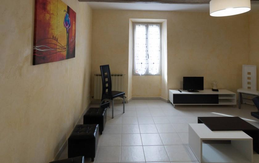 Location de vacances - Gîte à Beaumes-de-Venise - Séjour - salon