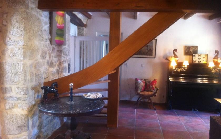 Location de vacances - Mas à Sainte-Marine - autre vue du salon