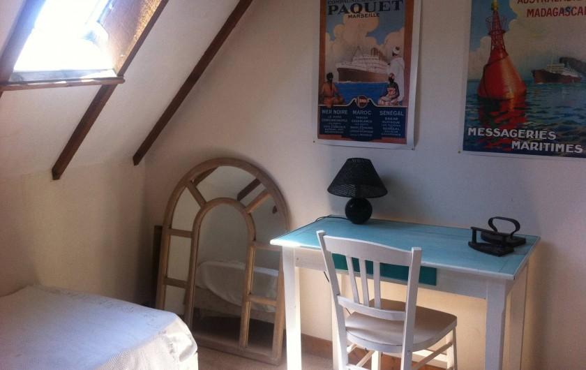Location de vacances - Mas à Sainte-Marine - vue de la petite chambre