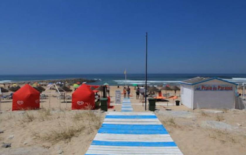 Location de vacances - Appartement à Costa da Caparica - Plage