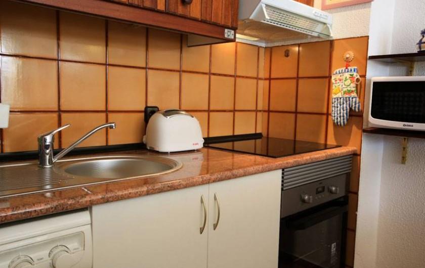 Location de vacances - Appartement à Costa da Caparica - Cuisine (details)