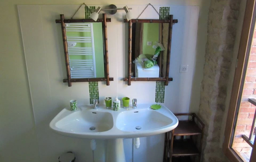 Location de vacances - Gîte à Fauch - salle de bain