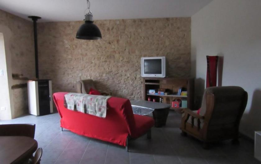 Location de vacances - Gîte à Fauch - côté salon