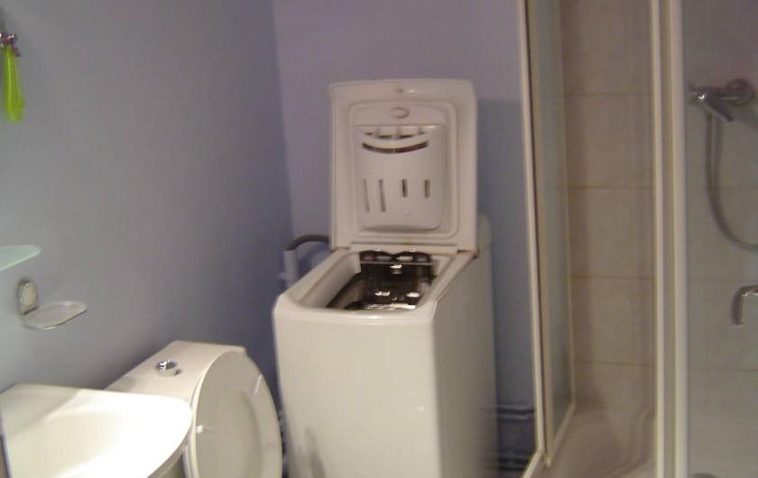 Location de vacances - Appartement à Malo-les-Bains - Salle d'eau