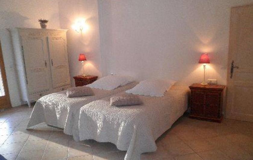 Location de vacances - Chambre d'hôtes à Cotignac - chambre l'Olivette