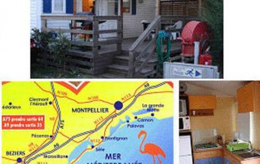 Location de vacances - Bungalow - Mobilhome à Sérignan Plage