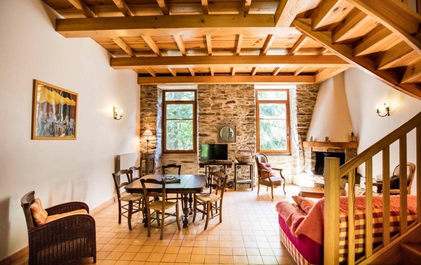 Location de vacances - Gîte à Colombières-sur-Orb - le pêcheur, gîtes du château de Colombières
