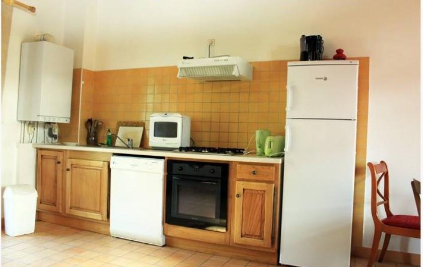 Location de vacances - Gîte à Colombières-sur-Orb - cuisine le pêcheur, gîtes du château de Colombières