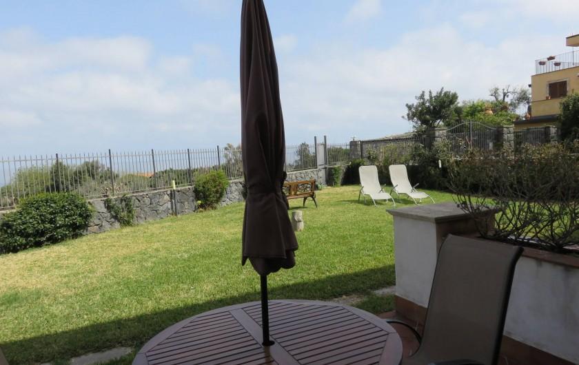 Location de vacances - Appartement à Acireale - terrasse e jardine