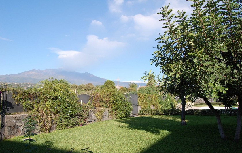 Location de vacances - Appartement à Acireale - jardine ave l'Etna