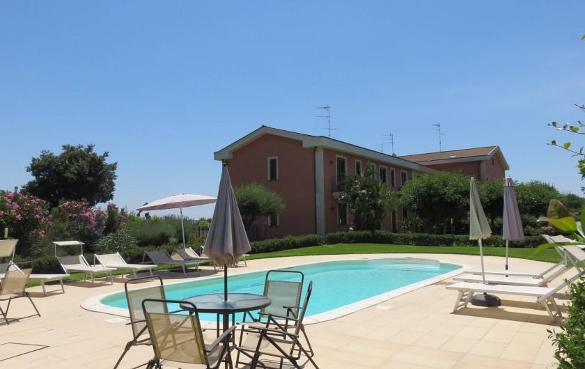 Location de vacances - Appartement à Acireale - piscine