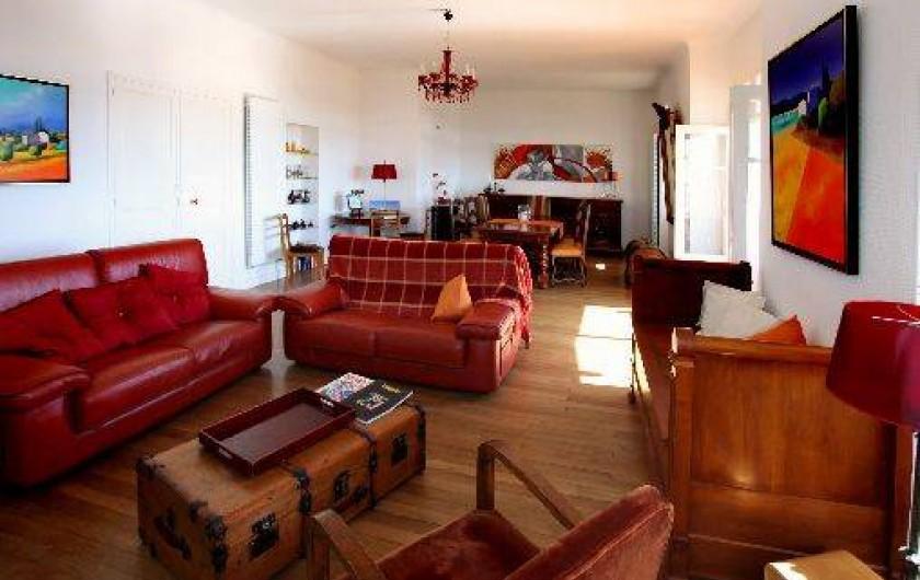 Location de vacances - Villa à Pornichet - Séjour-salon