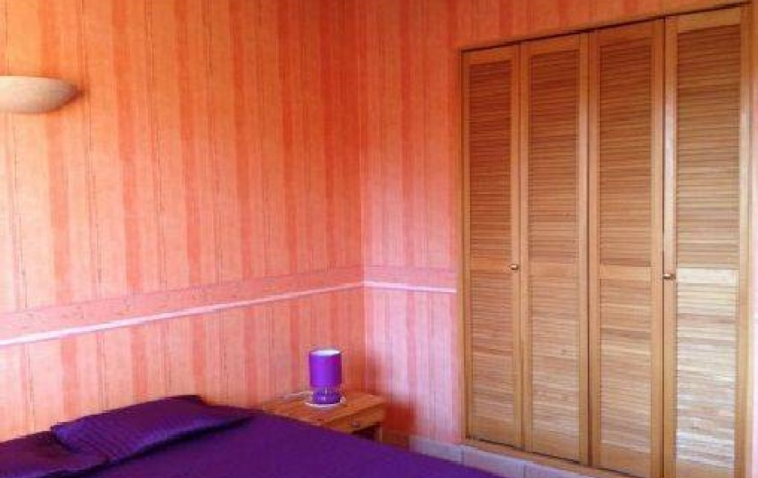 Location de vacances - Maison - Villa à Grenier-Montgon - Chambre parentale