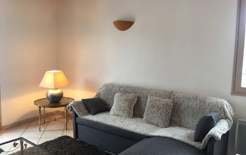 Location de vacances - Maison - Villa à Grenier-Montgon - Coin salon