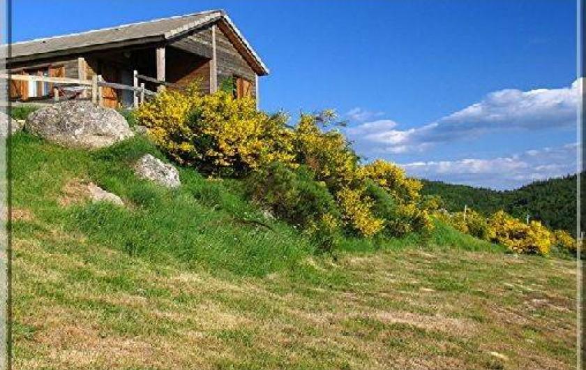 Location de vacances - Gîte à Le Pont-de-Montvert - Vue Chalet Moyen