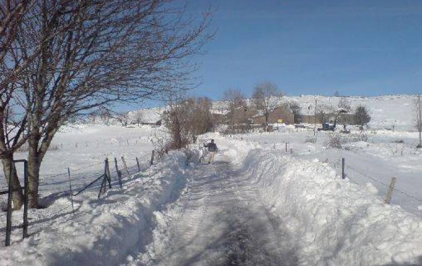 Location de vacances - Gîte à Le Pont-de-Montvert - Lozère hiver