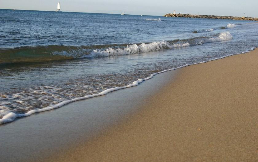 Location de vacances - Bungalow - Mobilhome à Vendres - La plage