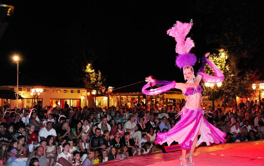 Location de vacances - Bungalow - Mobilhome à Vendres - Soirée spectacle au camping La Yole