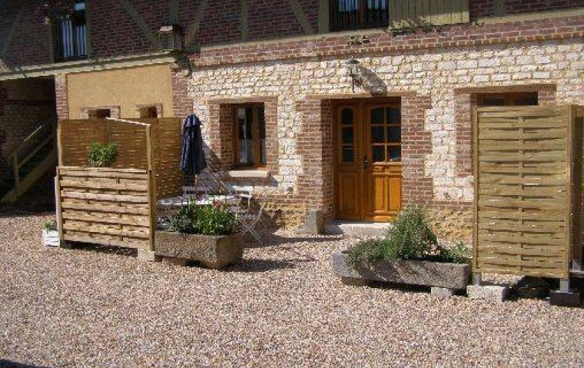 Location de vacances - Chambre d'hôtes à Andé - gite eure terrasse